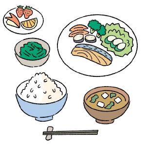 バランスの良い食事